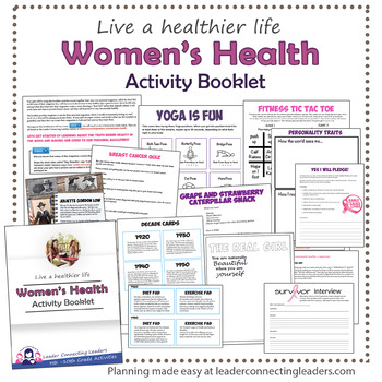 Senior Girl Scout Women's Health Activity Booklet