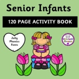 Senior Infants 120 Page Activity Book - Distance Learning