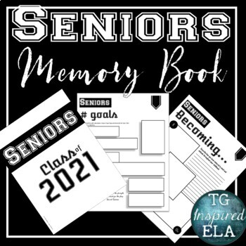 Senior Memory Book for End of Year