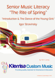 Senior Music Literacy - The Rite of Spring