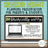Senior Post-Secondary Planning Presentation for Parents an