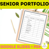 Senior Portfolio: Autobiography Resume Cover Letter & Editable