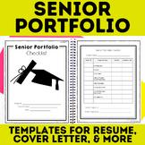 Senior Portfolio: Autobiography Resume Cover Letter & Editable Google Slides