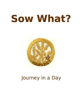 Senior Sow What Journey Guide