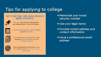 Senior Year Guide to College PPT