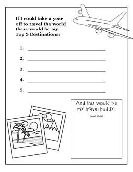 Senior Year Memory Book