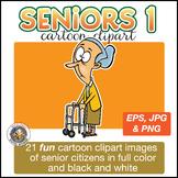 Seniors Cartoon Clipart