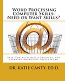 Seniors, Need or Want Word Processing Computer Skills?