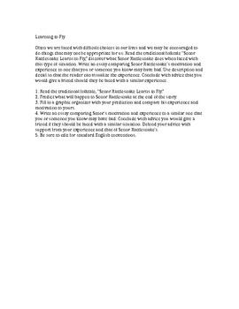 Senor Rattlesnake Folktale Compare/Contrast Motivations Essay