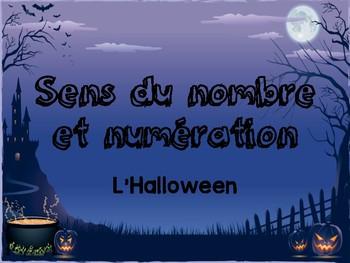 Sens du Nombre et Numération - l'halloween
