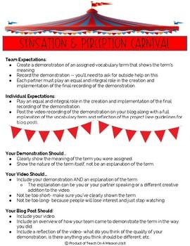 Sensation & Perception Carnival: Student Project in AP Psychology
