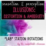 Sensation & Perception: Illusions (Ambiguity & Distortion Lab Station Rotations)