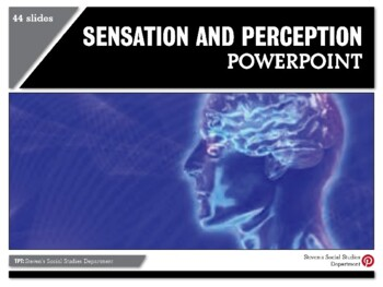 Sensation and Perception PowerPoint