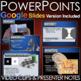 Sensation and Perception PowerPoint + Presenter Notes & Vi