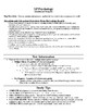 Sensation and Perception Study Guide for AP Psychology