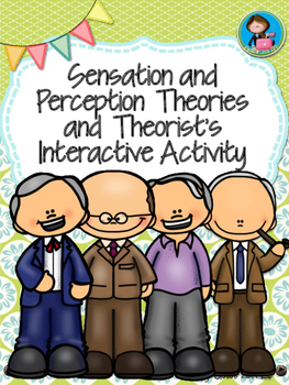 Sensation and Perception Theories and Theorists Interactiv
