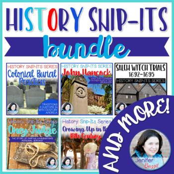 Sensational History Snip-Its Series BUNDLE