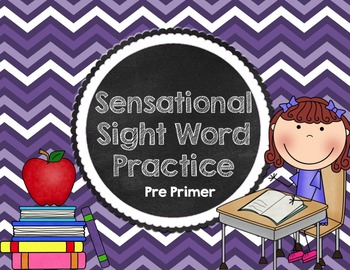 Sensational Sight Words {Pre Primer}