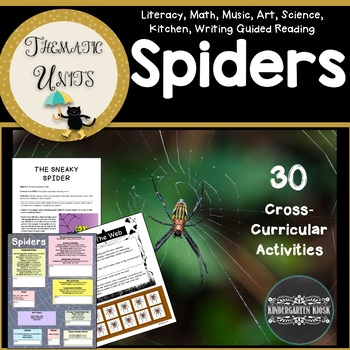 Sensational Spiders Thematic Unit