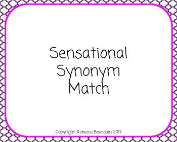 Sensational Synonym Match