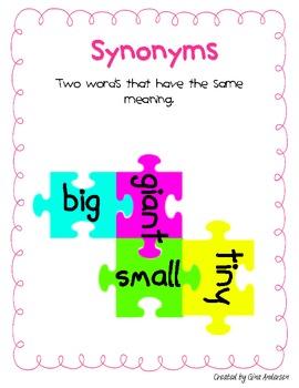 Sensational Synonyms