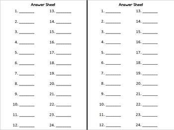 Sensational Synonyms Task Cards