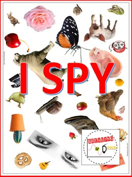 Sense Of Sight Activity- I SPY