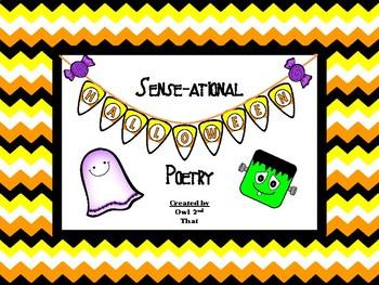Sense-ational Halloween Poems- 5 Sense Poems
