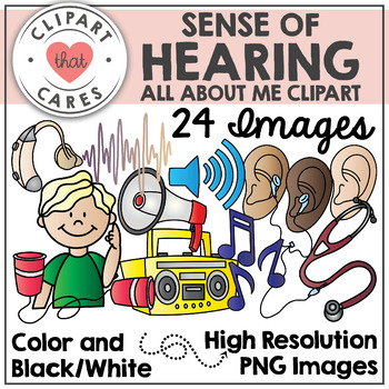 Sense Of Hearing Clipart By Clipart That Cares By Clipart That Cares