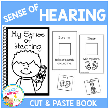 Sense of Hearing Interactive Book
