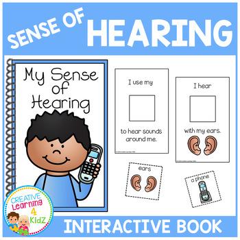Sense of Hearing Interactive Book