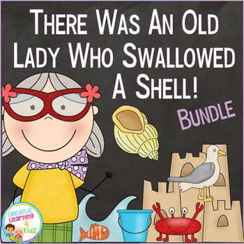 There Was an Old Lady Who Swallowed a Shell! Bundle