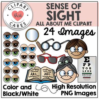 Sense of Sight Clipart by Clipart That Cares