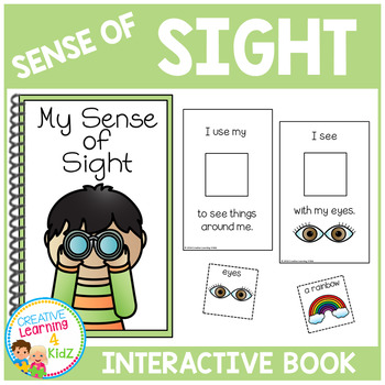 Sense of Sight Interactive Book
