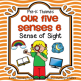 Sense of Sight Theme Centers, Printables and Activities