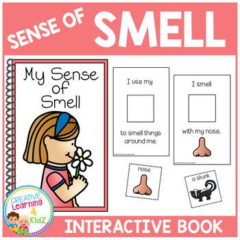 Sense of Smell Interactive Book