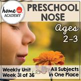 Sense of Smell Preschool Unit - Printables for Preschool, PreK, Homeschool PreK