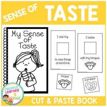 Sense of Taste Interactive Book
