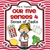 Sense of Taste Math, Science, and Literacy Centers and Activities