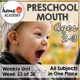 Sense of Taste Preschool Unit - Printables for Preschool, PreK, Homeschool PreK