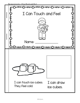 Sense of Touch Centers and Activities for Preschool and Pre-K