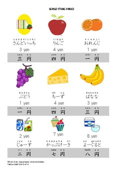 Sensei Store {Food + Price} Role-Play DDJ [Yellow Belt Unit 2 of 4]