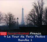 Sensei-tional France: 9 Le Tour de Paris Photos Bundle 1