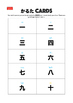 Sensei-tional Japanese Karuta Vocabulary Mini Flashcards: Numbers.
