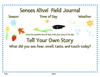 Senses Alive!  Five Senses Awareness Challenge Card Set K-1