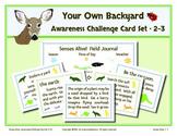 Senses Alive!  Five Senses Awareness Challenge Card Set 2-3