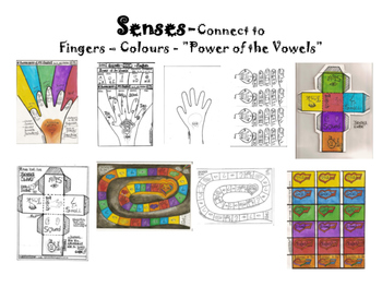 "Senses Alive-Connect ""Power of the Vowels"" to Senses and Colours"