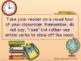 Writing Process : Multiple Senses in Writing Promethian Board, Writing Prompt