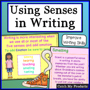 Writing Process : Multiple Senses in Writing PROMETHEAN Board, Writing Prompt
