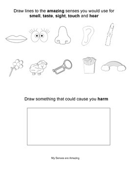 Common Core --Senses--Engage NY-- Kindergarten-- Domain 2
